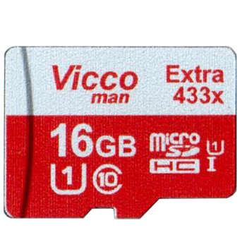 کارت حافظه ویکومن مدل Extre 433X کلاس 10 استاندارد UHS-I U1 سرعت 65MBps ظرفیت 16 گیگابایت